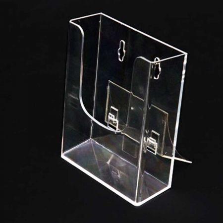 Προσπεκτοθήκη τοίχου Plexiglass 3,6x10,8x13,6cm