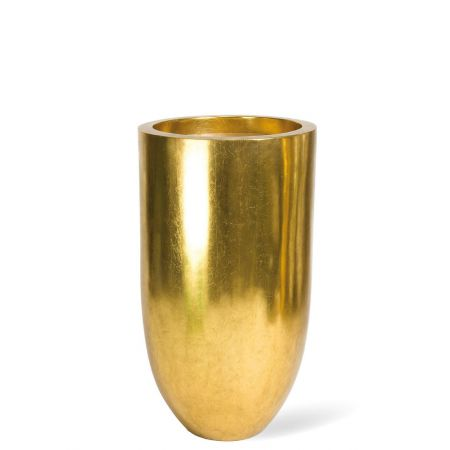 Γλάστρα-Βάζο PANDORA Χρυσό 50x90cm