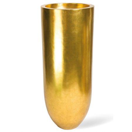 Γλάστρα-Βάζο PANDORA Χρυσό 50x125cm