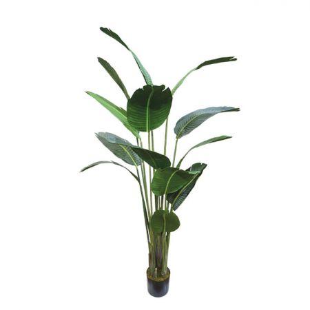 Τεχνητό φυτό Στρελίτζια σε γλάστρα 180cm
