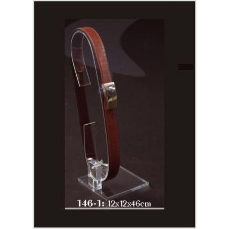 Σταντ Plexiglass για ζώνες 12x12x46cm