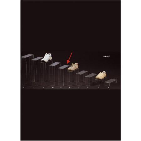 Σταντ Plexiglass για παπούτσια 25x10x30cm