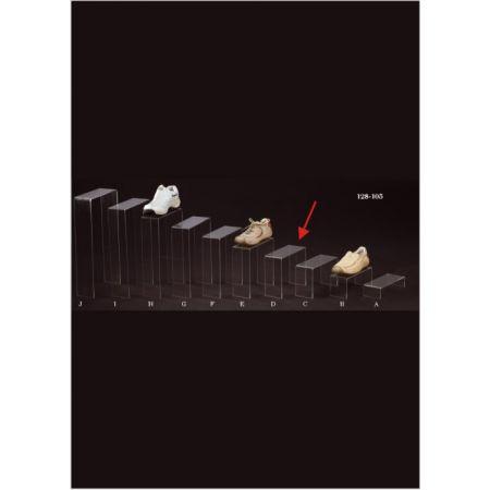 Σταντ Plexiglass για παπούτσια 25x10x20cm