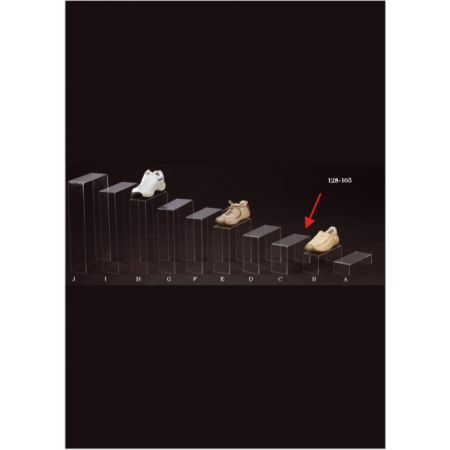 Σταντ Plexiglass για παπούτσια 25x10x15cm