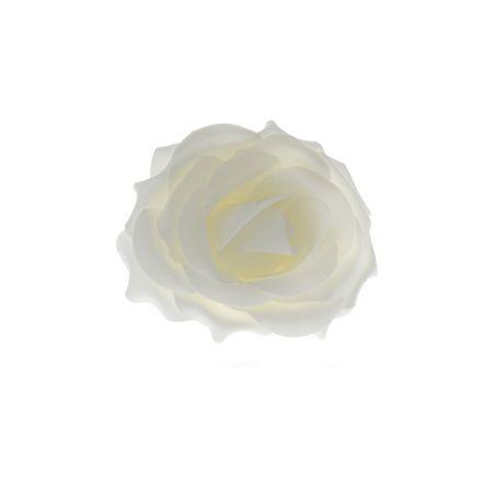 Διακοσμητικό άνθος τριαντάφυλλου 17x10cm