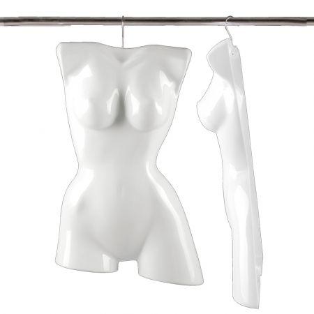 Γυναικείο μπούστο - κρεμάστρα Λευκό 64cm