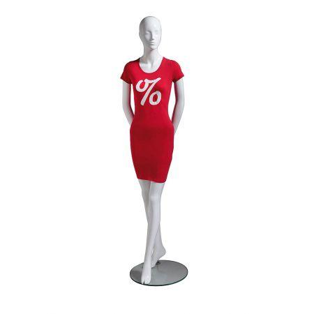 Φόρεμα με ποσοστό εκπτώσεων για κούκλα βιτρίνας (Μέγεθος 38)