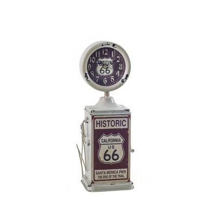 Διακοσμητικό Επιτραπέζιο Ρολόι Gasoline 33.5cm