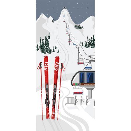 Αφίσα - Banner με lift χιονοδρομικού κέντρου 90x200cm
