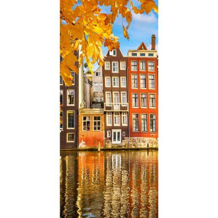 Διακοσμητική αφίσα Amsterdam 90x200cm