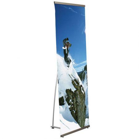 Σταντ δαπέδου πτυσσόμενο - Stand Quick banner για Αφίσα 80x200cm