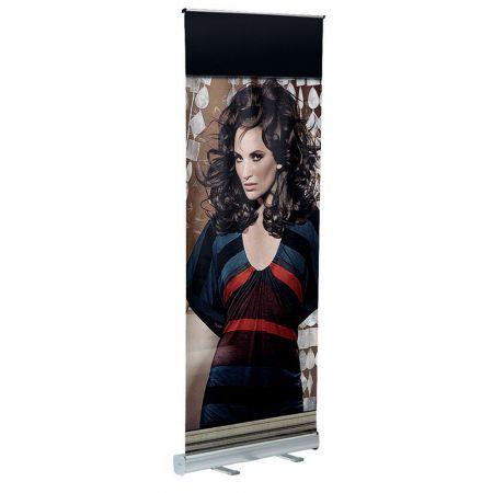 Σταντ δαπέδου πτυσσόμενο - Roll Up Eco για Banner 80x200cm