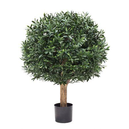 Τεχνητό Φυτό Ίληξ-Μπάλα (Ilex Ball) 50cm