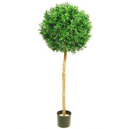 Τεχνητό Δέντρο Ίληξ-Μπάλα (Ilex Tree) 135cm