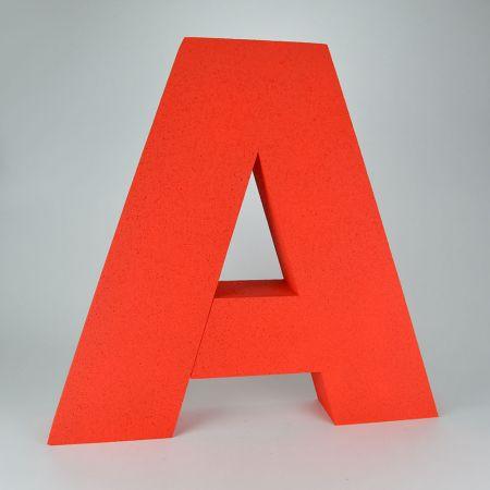 XL Διακοσμητικό γράμμα A Κόκκινο 58x62x10cm