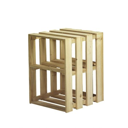 Διακοσμητικό Κουτί-Καφάσι Ξύλινο 55x41x43cm