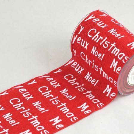 Χριστουγεννιάτικο ύφασμα JEUX NOEL 14cmx9.1m