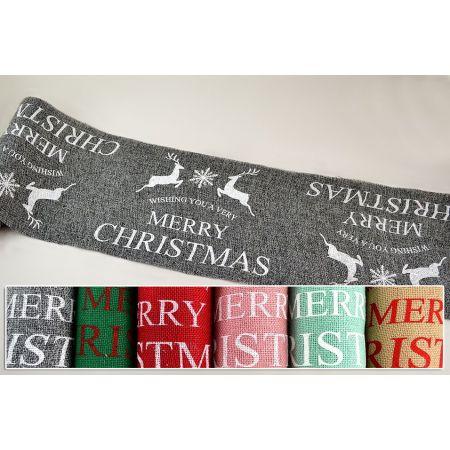 Χριστουγεννιάτικο ύφασμα MERRY CHRISTMAS 30cmx5m