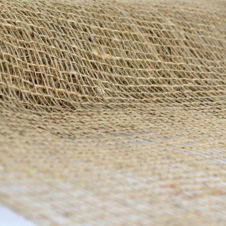 Διακοσμητικό ύφασμα ΤΣΟΥΒΑΛΙ ΔΙΧΤΥ ΚΟΛΑΡΙΣΜΕΝΟ 55cmx5m