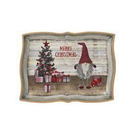 Χριστουγεννιάτικος με Ξωτικό πλαστικός 43x32cm