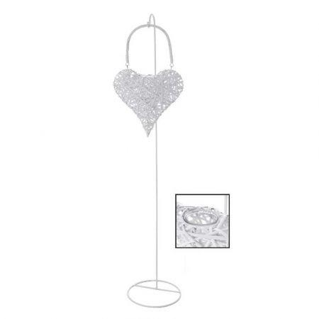 Διακοσμητικό φανάρι - Καρδιά Μπαμπού 150cm
