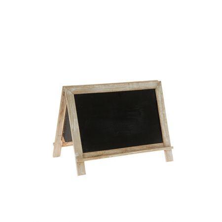 Διακοσμητικός μαυροπίνακας διπλής όψης 35x21x26cm