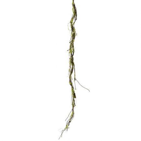 Διακοσμητικό κλαδί λυγαριάς με βρύα 170cm