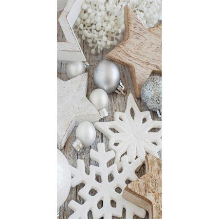 Διακοσμητική χριστουγεννιάτικη αφίσα 90x180cm