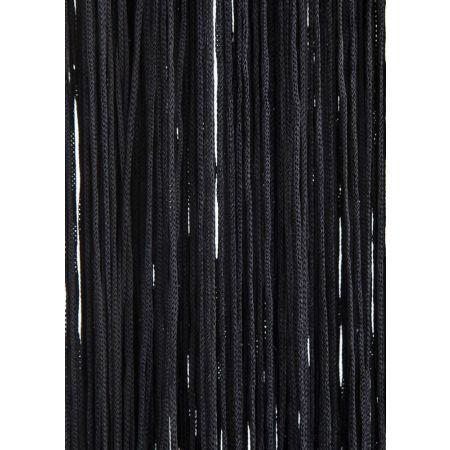 Διακοσμητική κουρτίνα κρόσσι Μαύρη 90x200cm