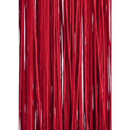 Διακοσμητική κουρτίνα κρόσσι Κόκκινη 90x200 cm