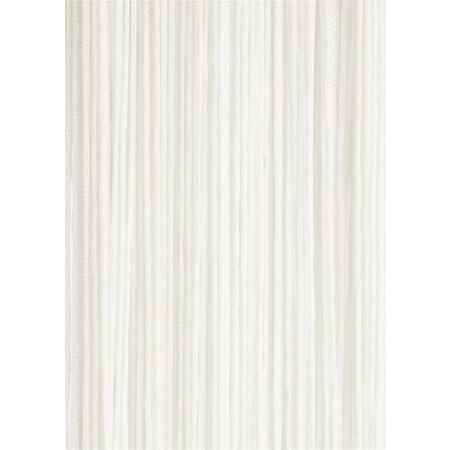 Διακοσμητική κουρτίνα κρόσσι Κρεμ 90x200cm