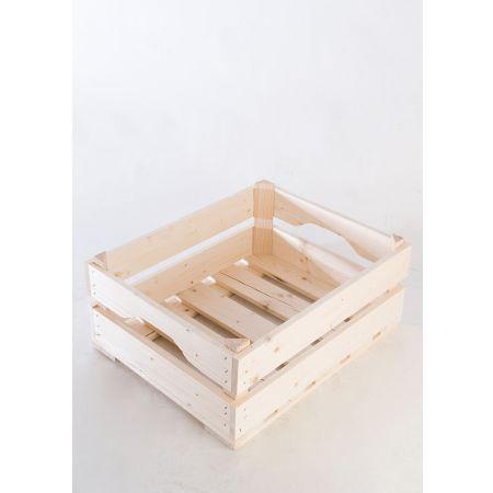 Διακοσμητικό Καφάσι-Ακατέργαστο ξύλο 50x40x20cm