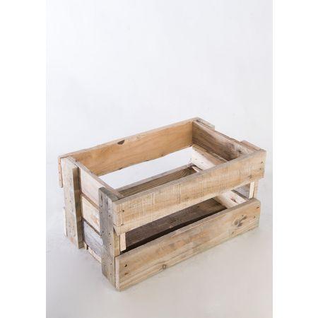 Διακοσμητικό Kαφάσι-Παλαιωμένο ξύλο 52x32x29cm