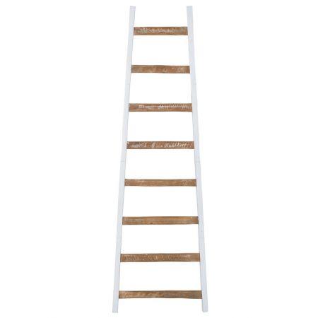 Διακοσμητική Σκάλα Ξύλινη - 8 Πατήματα 35x175cm