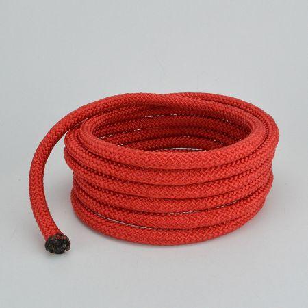 Διακοσμητικό σχοινί Κόκκινο 10mm με το μέτρο