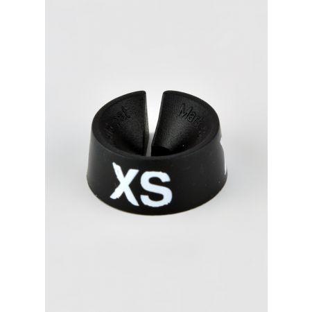 XS Σετ 25τμχ Νουμεροδείκτες Μαύρο/Λευκά γράμματα