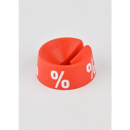 % Σετ 25τμχ Σημάνση Προσφορών Κόκκινο-Λευκό