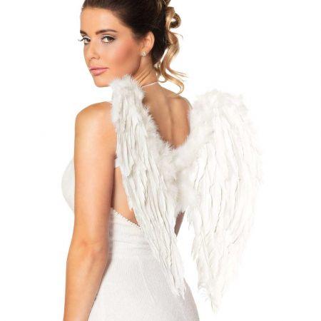 Διακοσμητικά Φτερά αγγέλου Λευκά 50x50cm