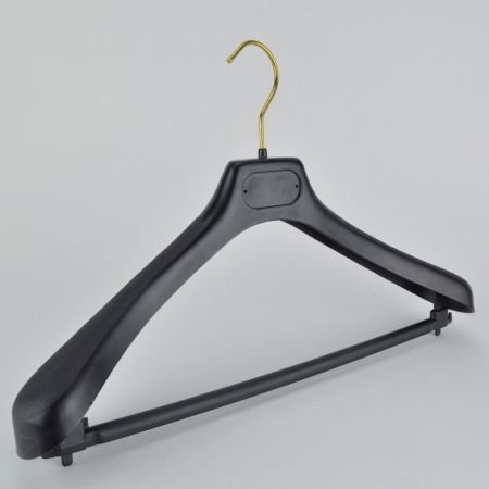 Κρεμάστρα Πλαστική με φαρδείς ώμους και μπάρα 42x27.5cm