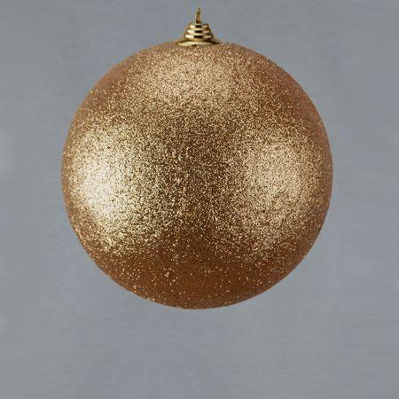 XL Διακοσμητική χριστουγεννιάτικη μπάλα Σαμπανί, 25cm
