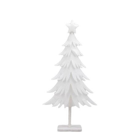 Διακοσμητικό χιονισμένο δέντρο - έλατο από βάτα 44x85,5cm