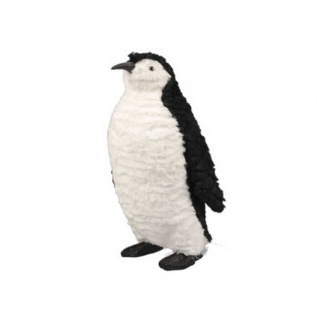 Διακοσμητικός πιγκουίνος - Λευκό - Μαύρο 20x19x35cm