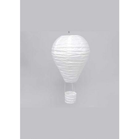 Διακοσμητικό κρεμαστό αερόστατο Λευκό, 25cm