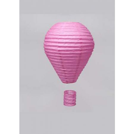 Διακοσμητικό κρεμαστό αερόστατο Ροζ, 40cm