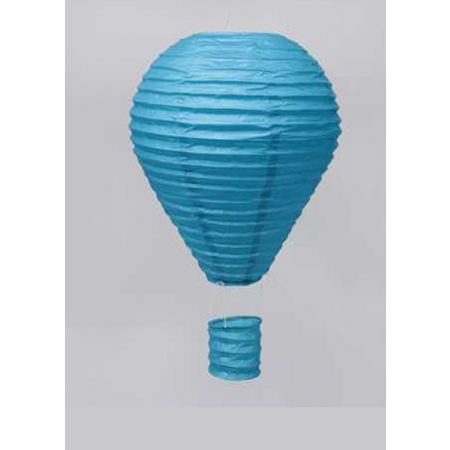 XL Διακοσμητικό κρεμαστό αερόστατο Μπλε, 85cm