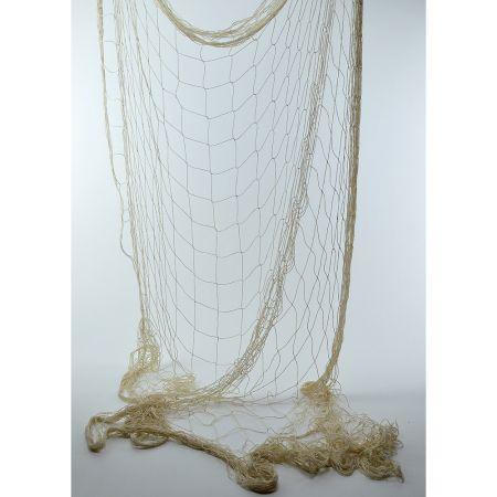 Διακοσμητικό δίχτυ ψαρέματος λεπτό Μπεζ 200x400cm