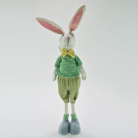Διακοσμητικό υφασμάτινο Κουνελάκι Αγόρι 60cm