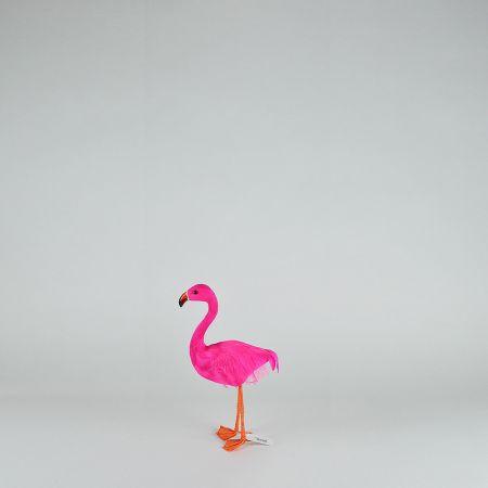 Διακοσμητικό Φούξια Φλαμίνγκο όρθιο 30cm