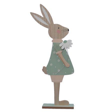 Φιγούρα Κουνελάκι Κορίτσι Ξύλινο , 61cm