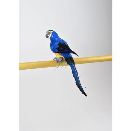 Διακοσμητικός παπαγάλος Μπλε 31cm
